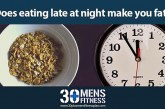 Does Eating Late at Night Make You Fat?