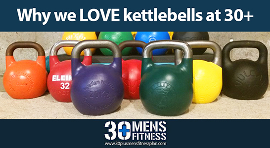 Why We LOVE Kettlebells at 30+